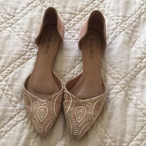 Dressy flats found at Anthropologie